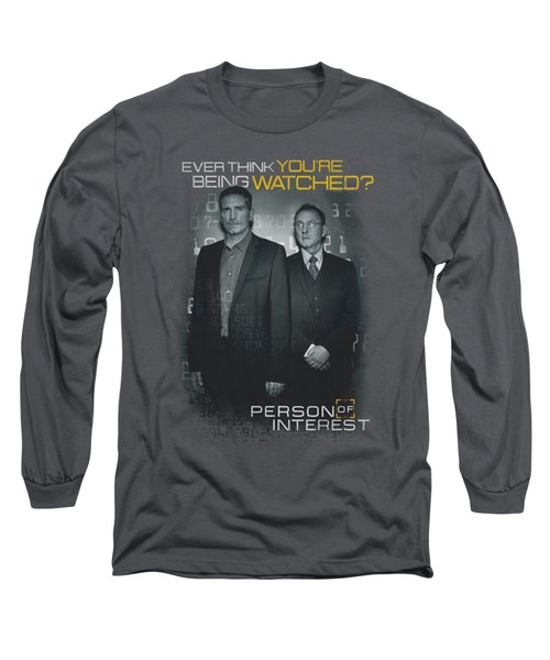 Person Of Interest - Watched Long Sleeve T-Shirt by Brand A