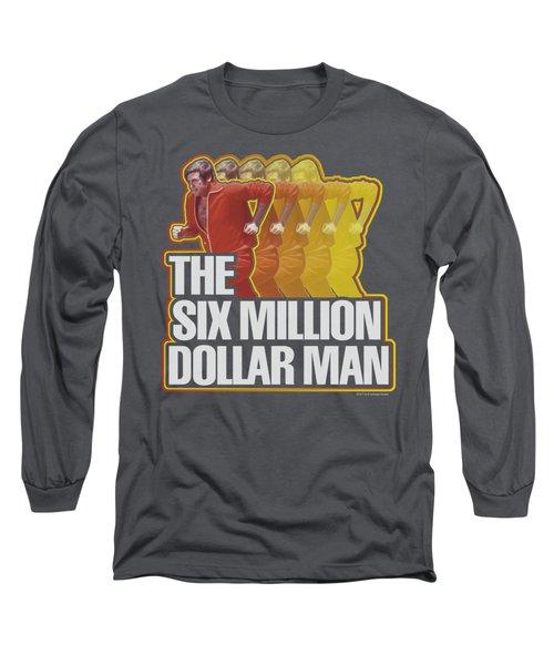 Smdm - Run Fast Long Sleeve T-Shirt by Brand A