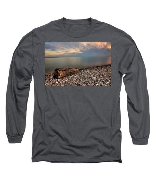 Stone Beach Long Sleeve T-Shirt by James Dean