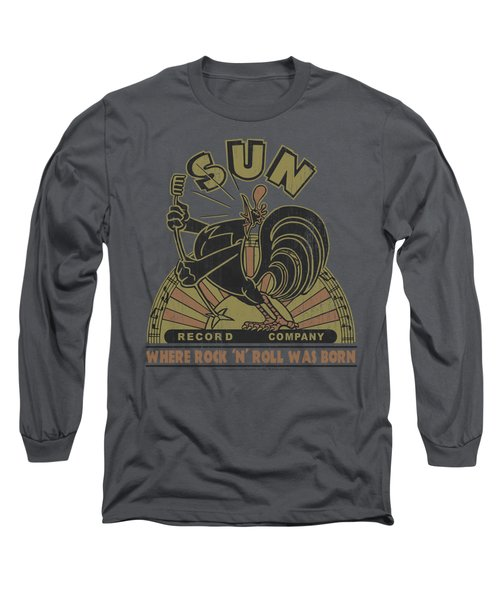 Sun - Sun Rooster Long Sleeve T-Shirt by Brand A