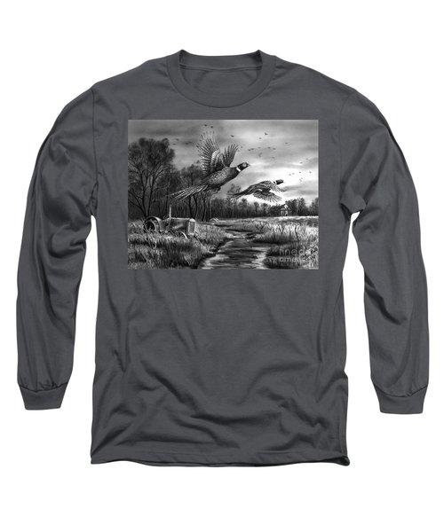 Taking Flight  Long Sleeve T-Shirt by Peter Piatt