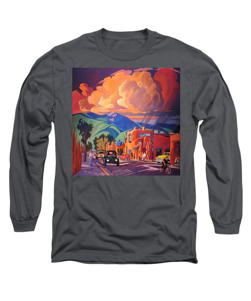 Taos Inn Monsoon Long Sleeve T-Shirt by Art James West