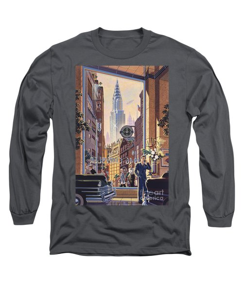 The Chrysler Long Sleeve T-Shirt by Michael Young