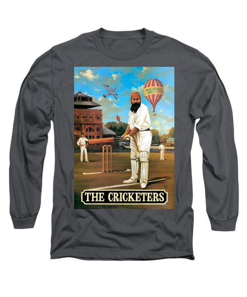 The Cricketers Long Sleeve T-Shirt by Peter Green