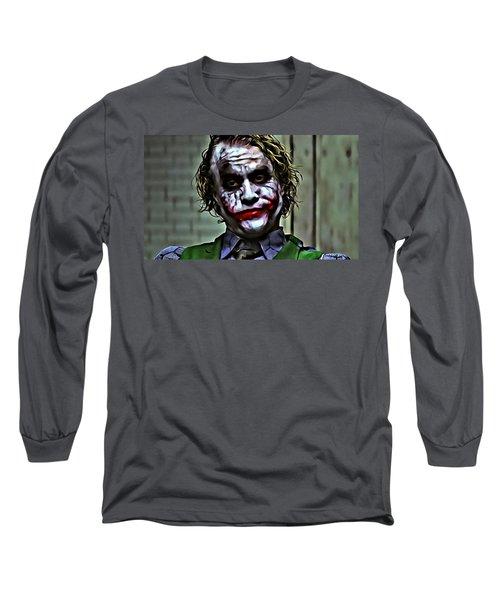 The Joker Long Sleeve T-Shirt by Florian Rodarte