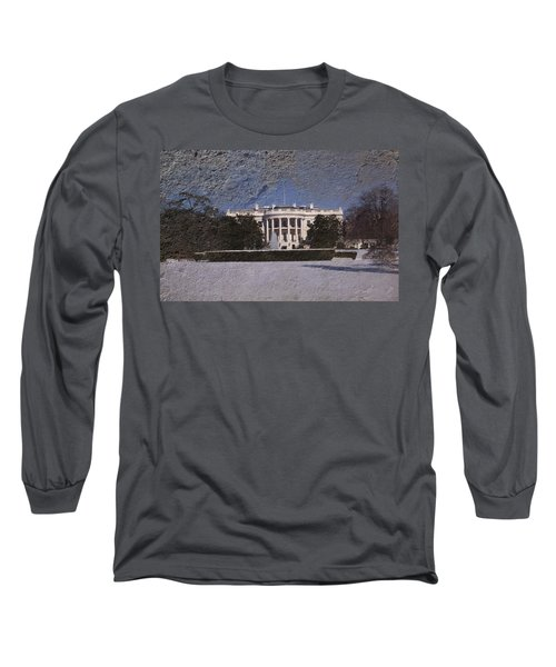 The Peoples House Long Sleeve T-Shirt by Skip Willits