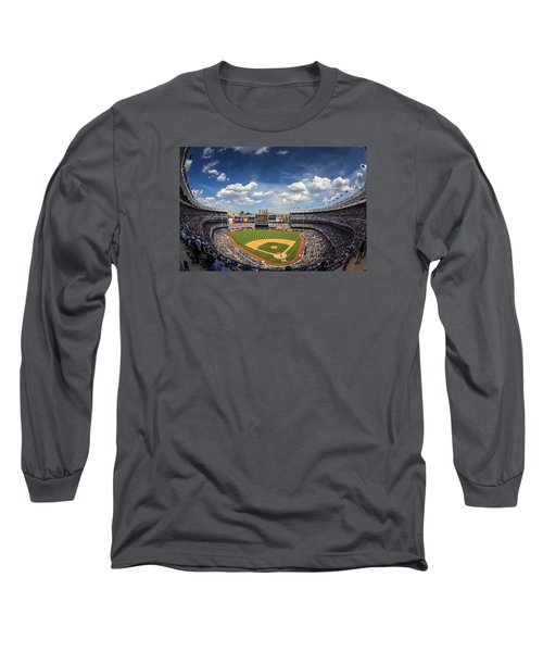 The Stadium Long Sleeve T-Shirt by Rick Berk