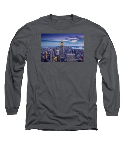 Top Of The World Long Sleeve T-Shirt by Marco Crupi