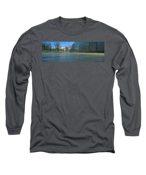 Vietnam Veterans Memorial, Washington Dc Long Sleeve T-Shirt by Panoramic Images