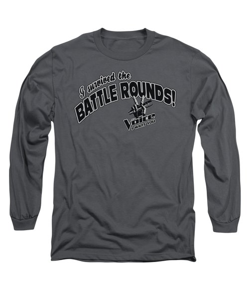 Voice - Battle Rounds Long Sleeve T-Shirt by Brand A
