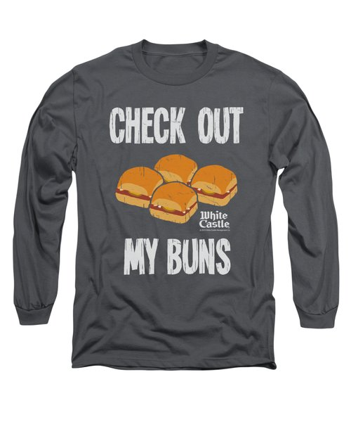 White Castle - My Buns Long Sleeve T-Shirt by Brand A