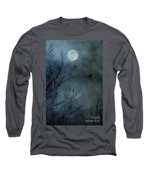 Winter's Silence Long Sleeve T-Shirt by Trish Mistric