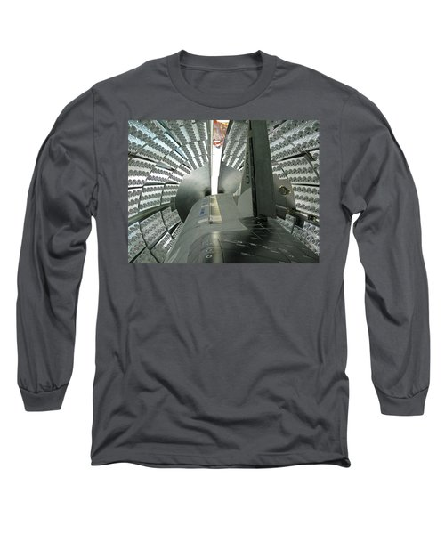 Long Sleeve T-Shirt featuring the photograph X-37b Orbital Test Vehicle by Science Source