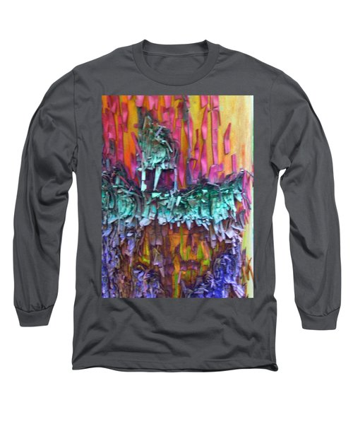 Long Sleeve T-Shirt featuring the digital art Ancient Footsteps by Richard Laeton