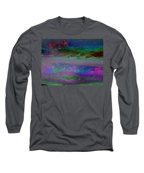 Long Sleeve T-Shirt featuring the digital art Grow by Richard Laeton