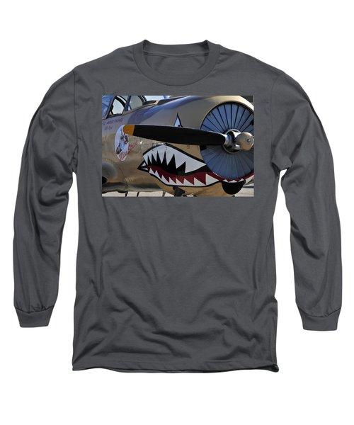 Mean Machine Long Sleeve T-Shirt by David Lee Thompson
