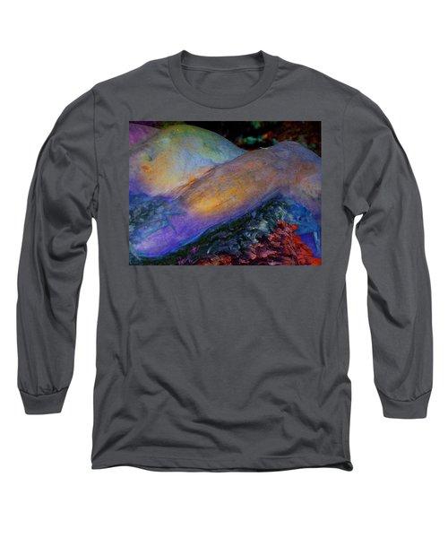 Long Sleeve T-Shirt featuring the digital art Spirit's Call by Richard Laeton