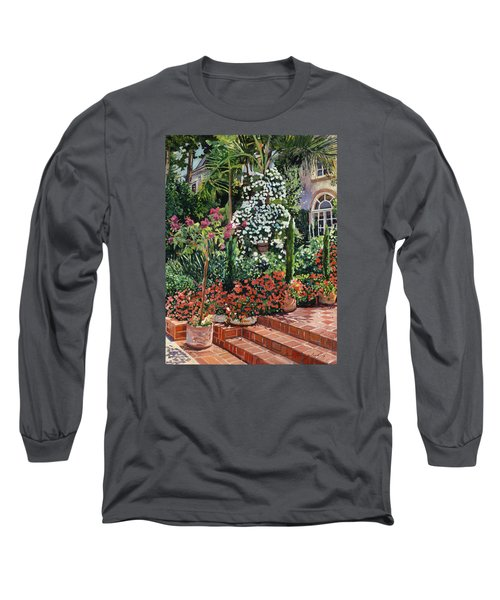 A Garden Approach Long Sleeve T-Shirt by David Lloyd Glover