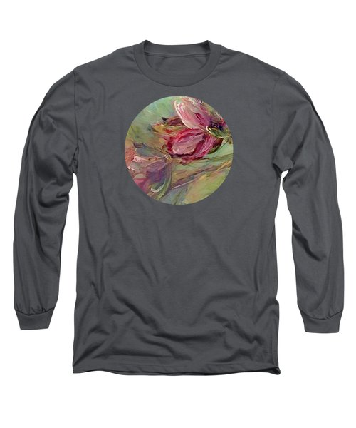 Flower Blossoms Long Sleeve T-Shirt by Mary Wolf