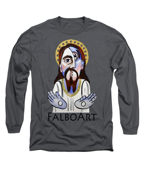 Jesus Christ Superstar Long Sleeve T-Shirt by Anthony Falbo