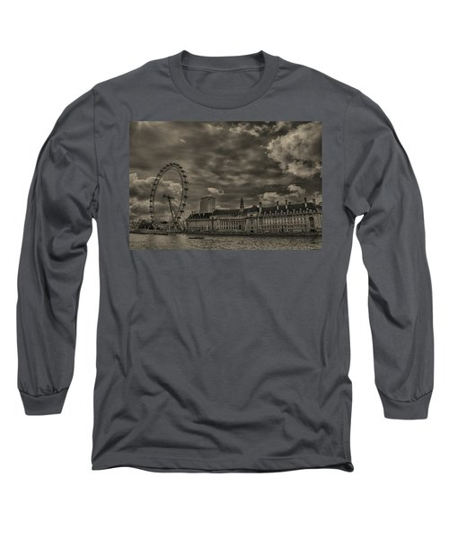 London Eye Long Sleeve T-Shirt by Martin Newman