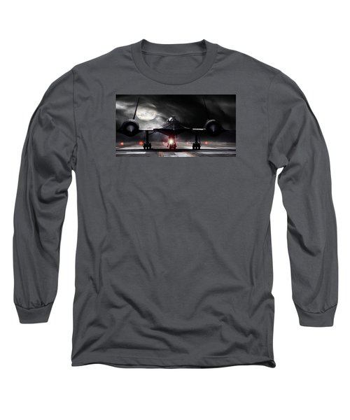 Night Moves Long Sleeve T-Shirt by Peter Chilelli