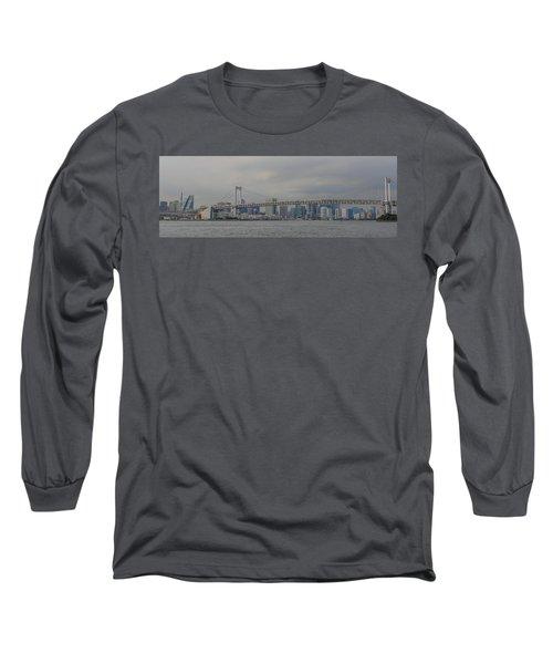 Rainbow Bridge Long Sleeve T-Shirt by Megan Martens