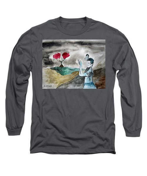 Scott Weiland - Stone Temple Pilots - Music Inspiration Series Long Sleeve T-Shirt by Carol Crisafi