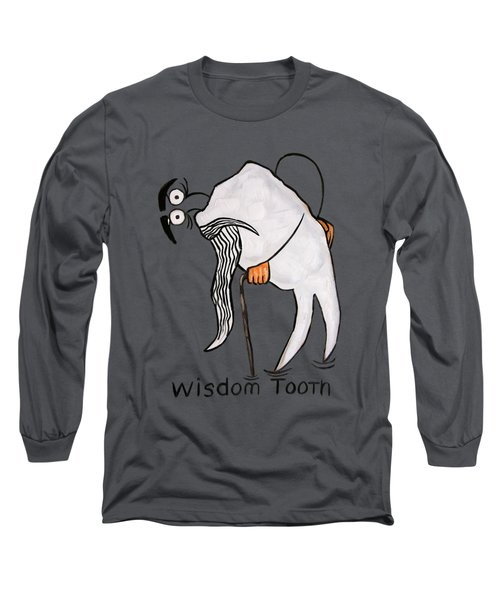Wisdom Tooth Long Sleeve T-Shirt by Anthony Falbo