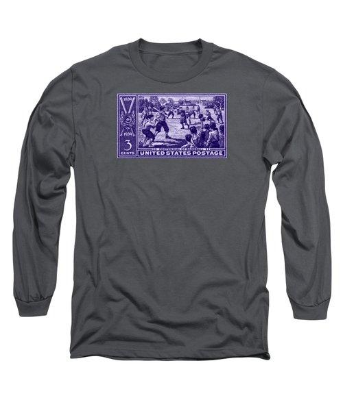 1939 Baseball Centennial Long Sleeve T-Shirt by Historic Image