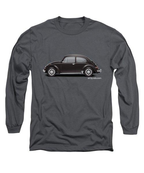 1972 Volkswagen 1300 - Custom Long Sleeve T-Shirt by Ed Jackson