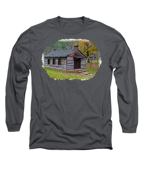 Church Long Sleeve T-Shirt by John M Bailey