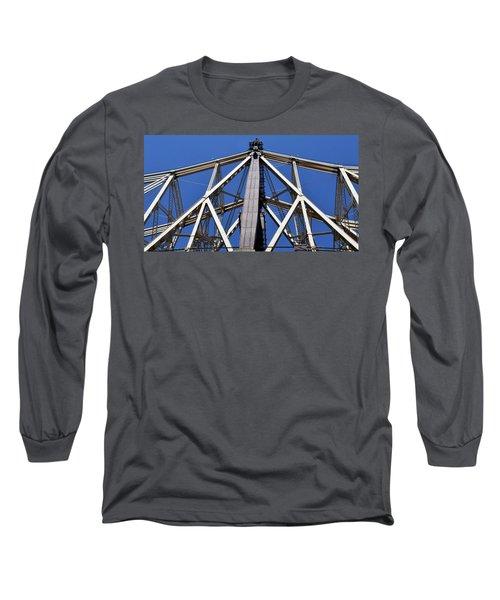 59th Street Bridge No. 88 Long Sleeve T-Shirt by Sandy Taylor