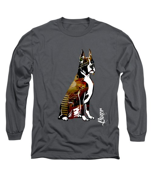 Boxer Collection Long Sleeve T-Shirt by Marvin Blaine