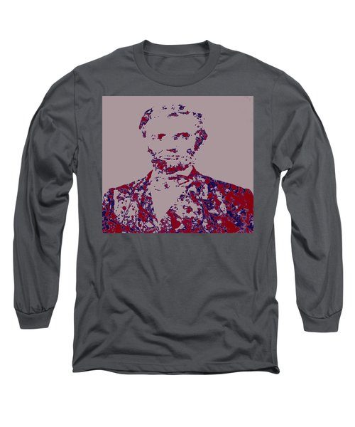 Abraham Lincoln 4c Long Sleeve T-Shirt by Brian Reaves