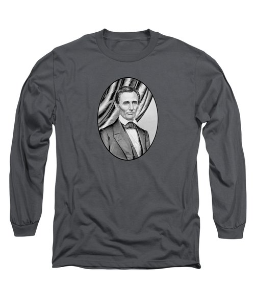 Abraham Lincoln Circa 1860 Long Sleeve T-Shirt by War Is Hell Store