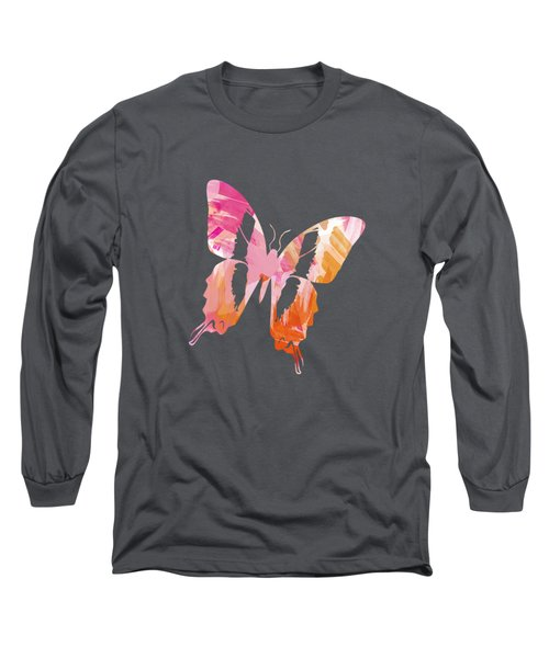 Abstract Paint Pattern Long Sleeve T-Shirt by Christina Rollo