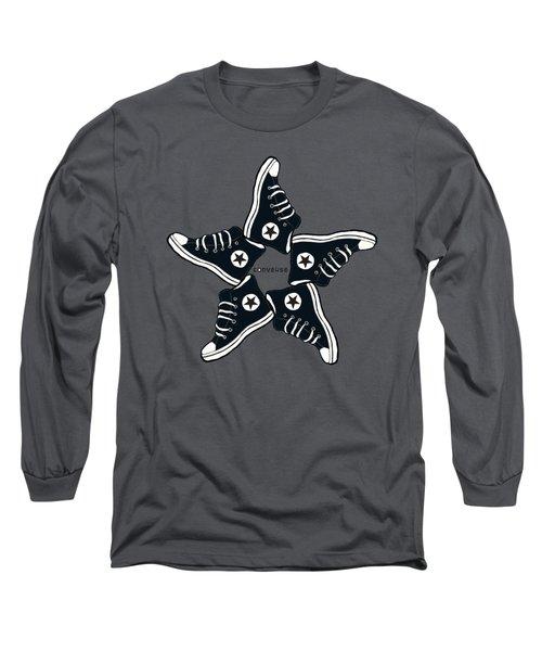 Allstar Design Long Sleeve T-Shirt by Mentari Surya