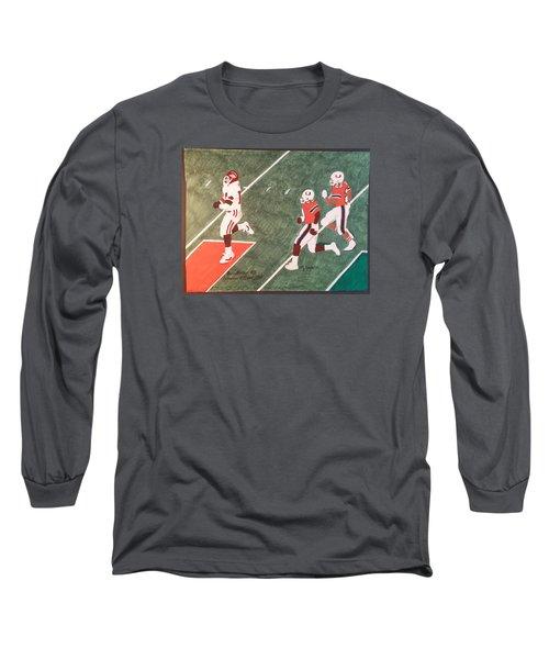 Arkansas V Miami, 1988 Long Sleeve T-Shirt by TJ Doyle
