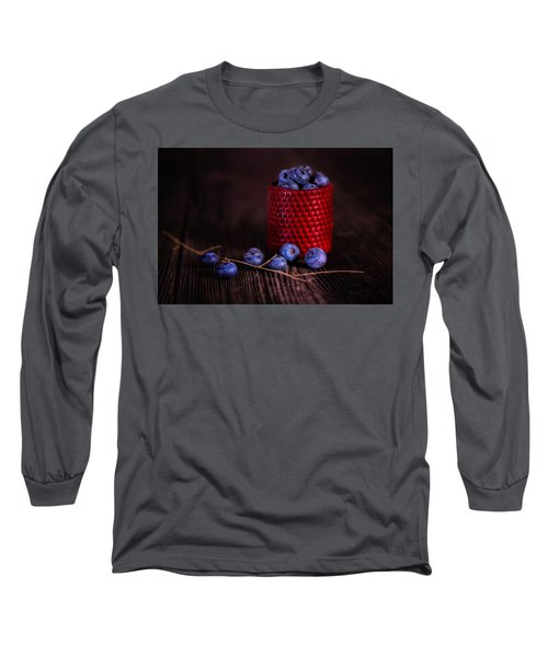 Blueberry Delight Long Sleeve T-Shirt by Tom Mc Nemar