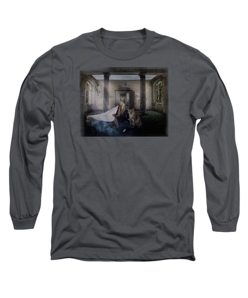Bluebonnet Hall Long Sleeve T-Shirt by Terry Fleckney