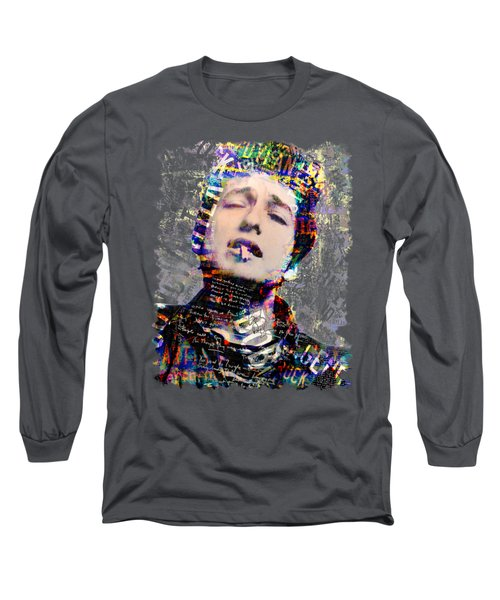 Bob Long Sleeve T-Shirt by Mal Bray