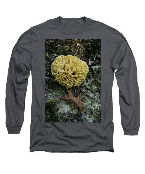 Brain Or Cauliflower Fungus Long Sleeve T-Shirt by Douglas Barnett