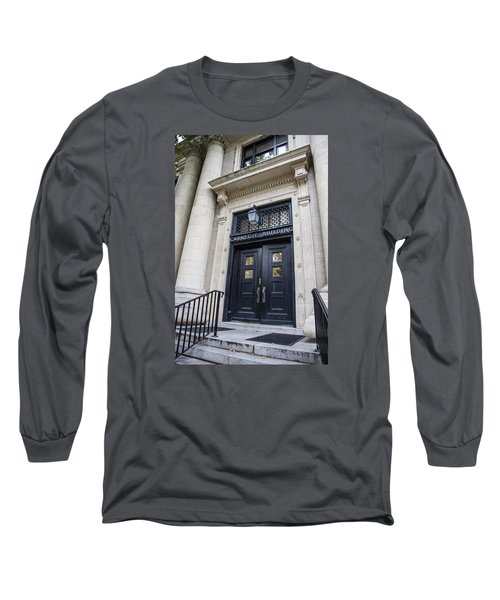 Carnegie Building Penn State  Long Sleeve T-Shirt by John McGraw