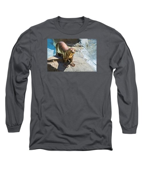 Catching Some Sun Long Sleeve T-Shirt by Jamie Pham
