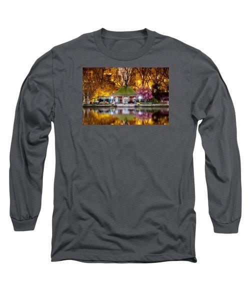 Central Park Memorial Long Sleeve T-Shirt by Az Jackson