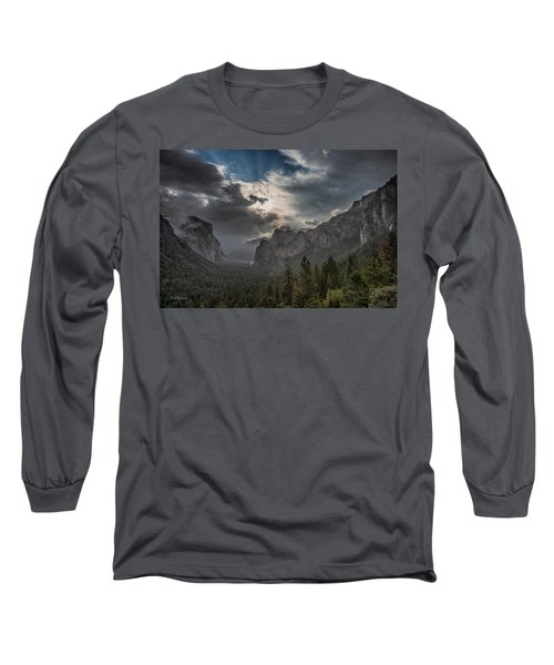 Clouds And Light Long Sleeve T-Shirt by Bill Roberts