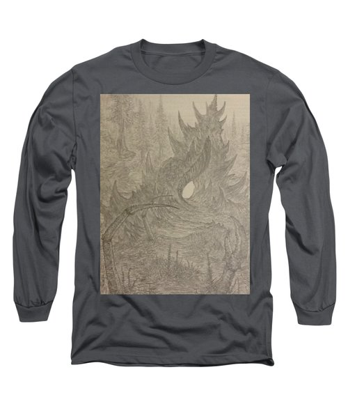 Coastal Castle Long Sleeve T-Shirt by Corbin Cox
