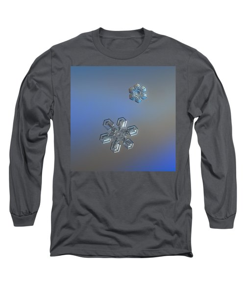 Crystals Of Day Long Sleeve T-Shirt by Alexey Kljatov