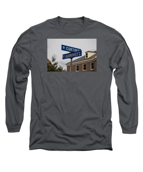 Curtin And Burrowes Penn State  Long Sleeve T-Shirt by John McGraw